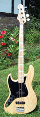 Lefthand Fender Jazz Bass 1976