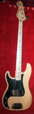 Lefthand Fender Precision Bass 1978