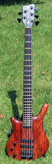 Lefthand Warwick Thumb 5string 1987