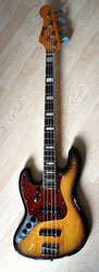 1970 lefty Fender Jazz Bass