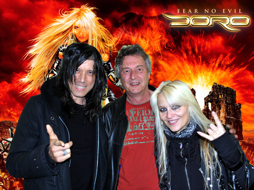 Nick Douglas and Doro Pesch